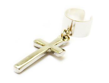 Ear Cuffs med kors
