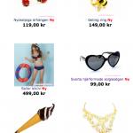 sommar smycken accessoarer