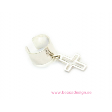 Ear cuff cross